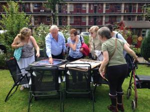 vic square trevor showing cross acres ladies the history of the garden